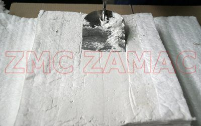 Mat repair with Fiber Plast mass